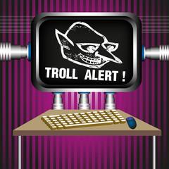 Troll alert
