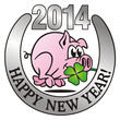 Lucky Pig Happy New Year