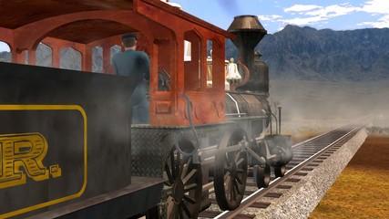 Dampfzug, Abenteuer-Urlaub und Wildwest-Nostalgie