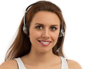 Girl Customer Support
