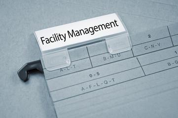 Ordner mit Facility Management