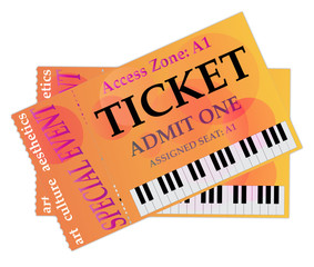 Tickets for live special events
