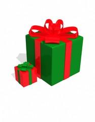 3d holiday box