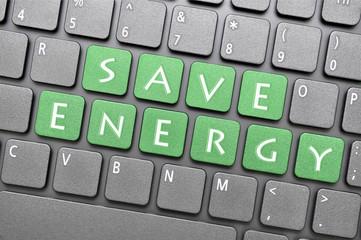 Save energy key on keyboard