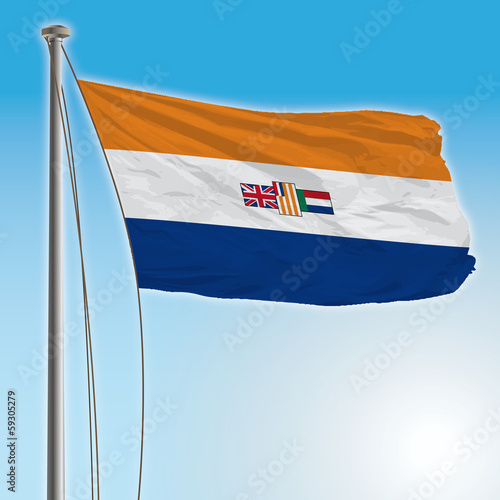 south africa old flag