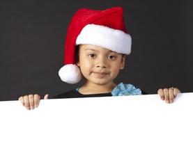 Cute little santas helper