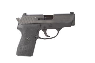 Right side of a 40 caliber handgun