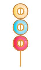 doughnuts skewer