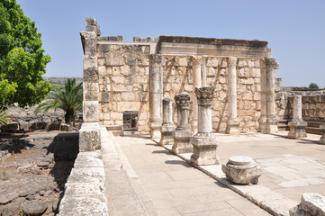 Synagague in Capernaum, Israel