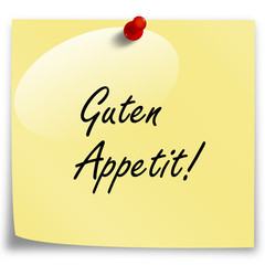 Post-It Guten Appetit!