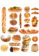 パンのコラージュ