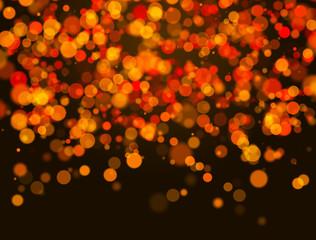 Orange Christmas background