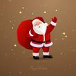 Vector Illustration of Santa Claus