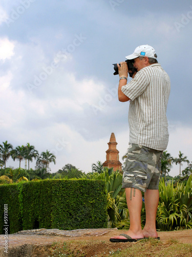 poster of photographer at work