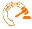 jugement flèche orange