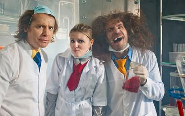 Bizarre chemists