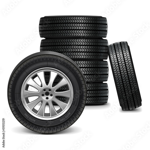 Vector Car Wheels