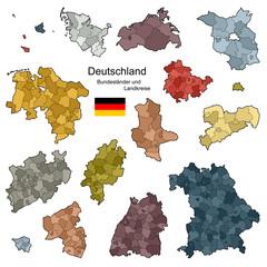 Bundesländer und Landkreise von Deutschland