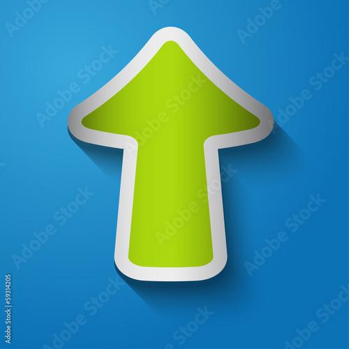 Icon arrow up