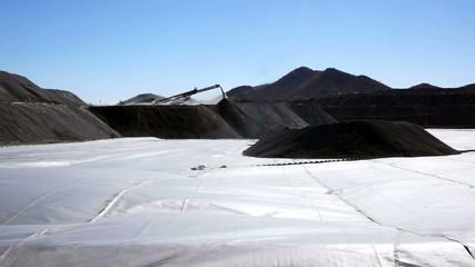 Mining Heap Leach Pad