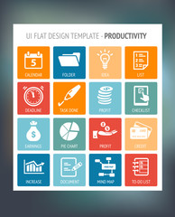 User Interface Template - Productivity