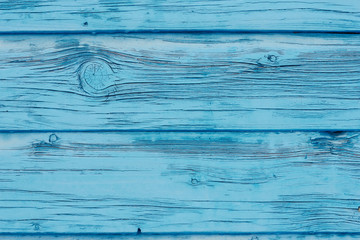Vintage blue wooden background