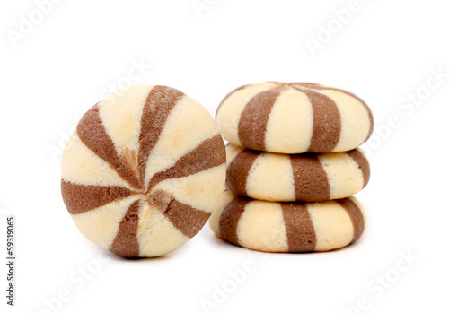 Biscuits of a chocolate cloves.