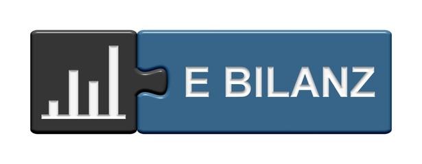 Puzzle-Button grau blau: E-Bilanz