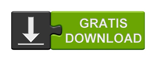 Puzzle-Button grau grün: Gratis Download