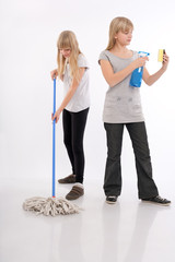 Teenagers and the housework