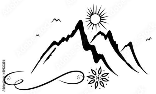 Der Berg ruft! Wandern, Berg, Bergsteigen, Klettern. - 59320256