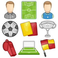 Soccer Icon - Sport - illustration