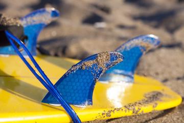 Surf board fins