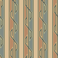 Floor Covering Geometrical Seamless Pattern