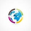 logo planète