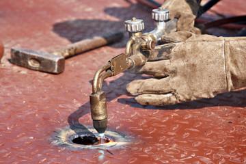 gas cutting