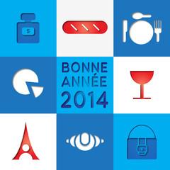 bonne année 2014 France