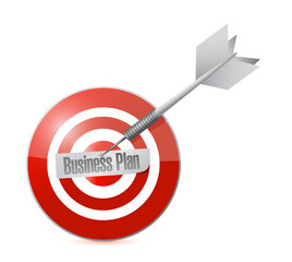 business plan target illustration design