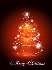Christmas Tree Wtih Sparkle
