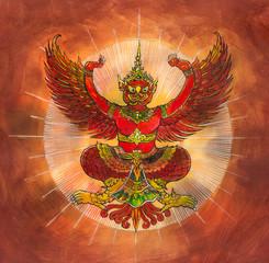 Garuda, Thai mythology eagle or bird