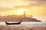 Fisherman boat in India