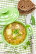 Buckwheat soup