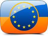 Ukraine EU button