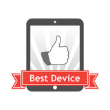 Best Device. Vector