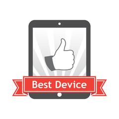 Best Device. Vector