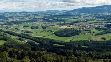 vue aérienne de montagne 2