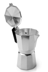 Metal coffeepot
