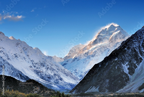 Mt. Cook in New Zealand