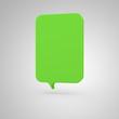 Big Banner - vertical green