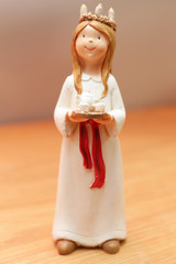 Small lucia figurine